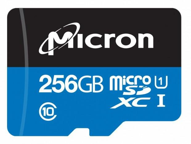 256 GB Industrial microSD von Micron