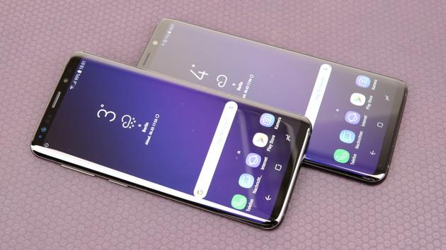 Samsung Galaxy S9(+): Smartphone-Flaggschiff auch mit 256 GB Speicher
