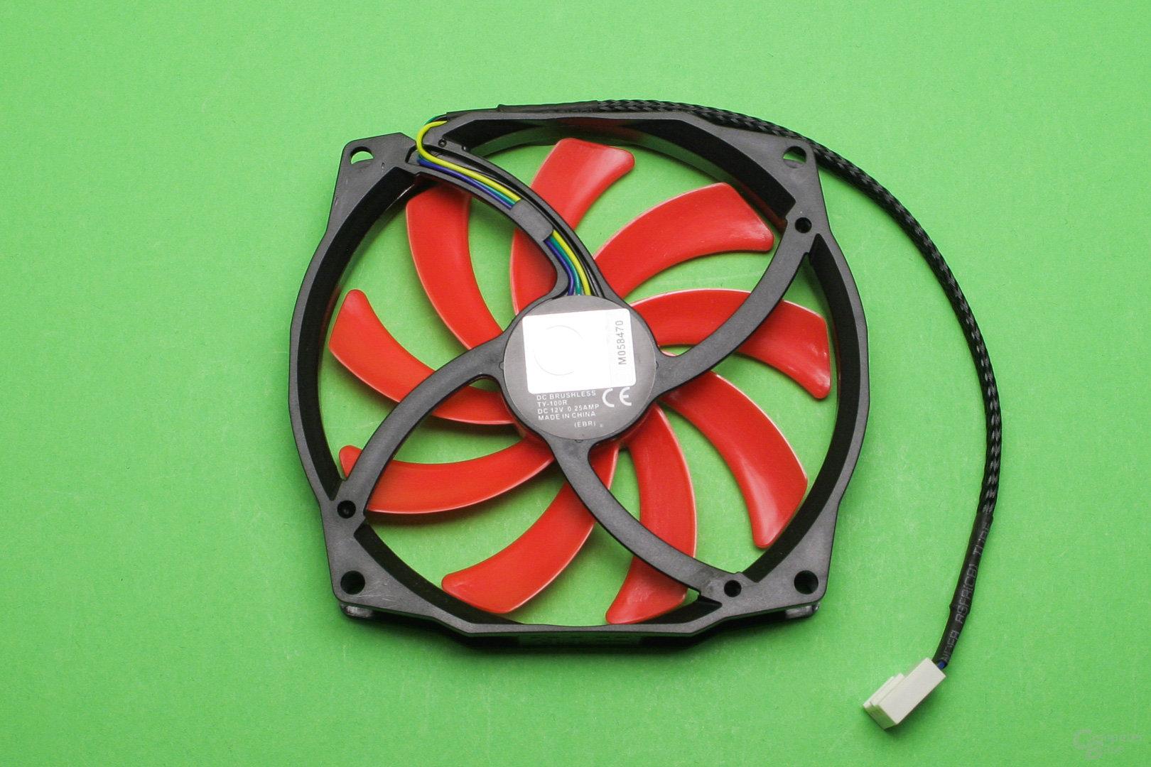 Thermalright AXP-100RH: Kleiner 100mm-Lüfter mit nur 1,4 cm Bautiefe