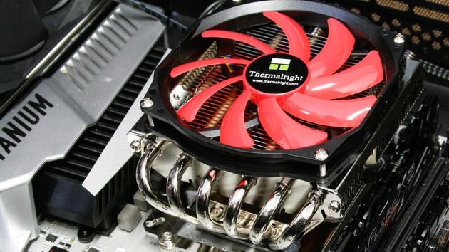 Thermalright AXP-100RH im Test: Mini-Top-Blow-CPU-Kühler für Mini-PCs