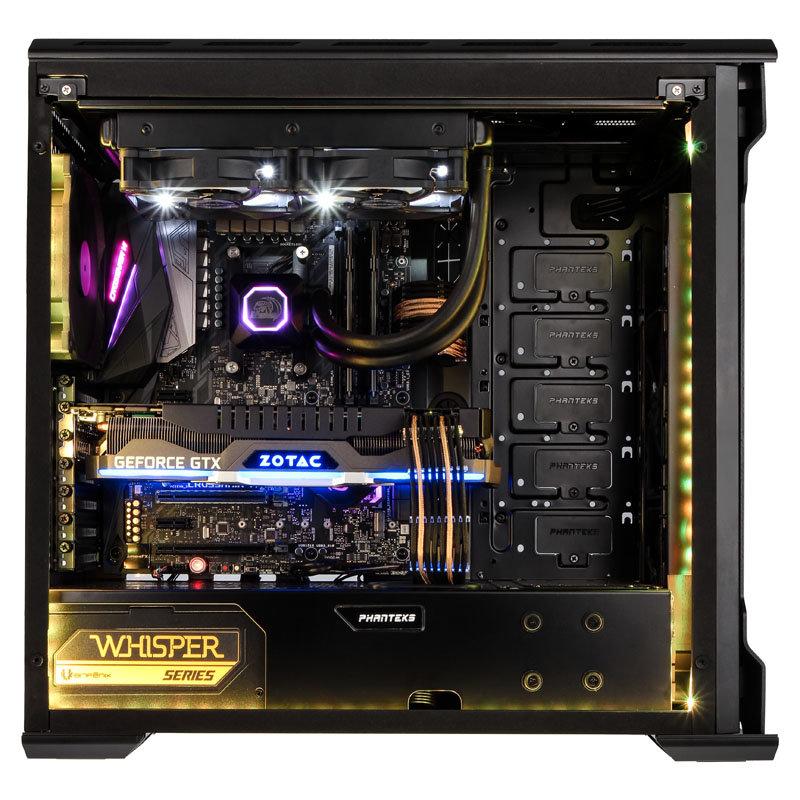 Gaming-PC mit AMD Ryzen 2 und GeForce GTX 1080 Ti von Caseking.de