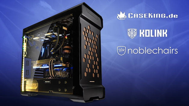 19 Jahre ComputerBase: Gaming-PC mit Ryzen 7 2700X von Caseking.de zu gewinnen