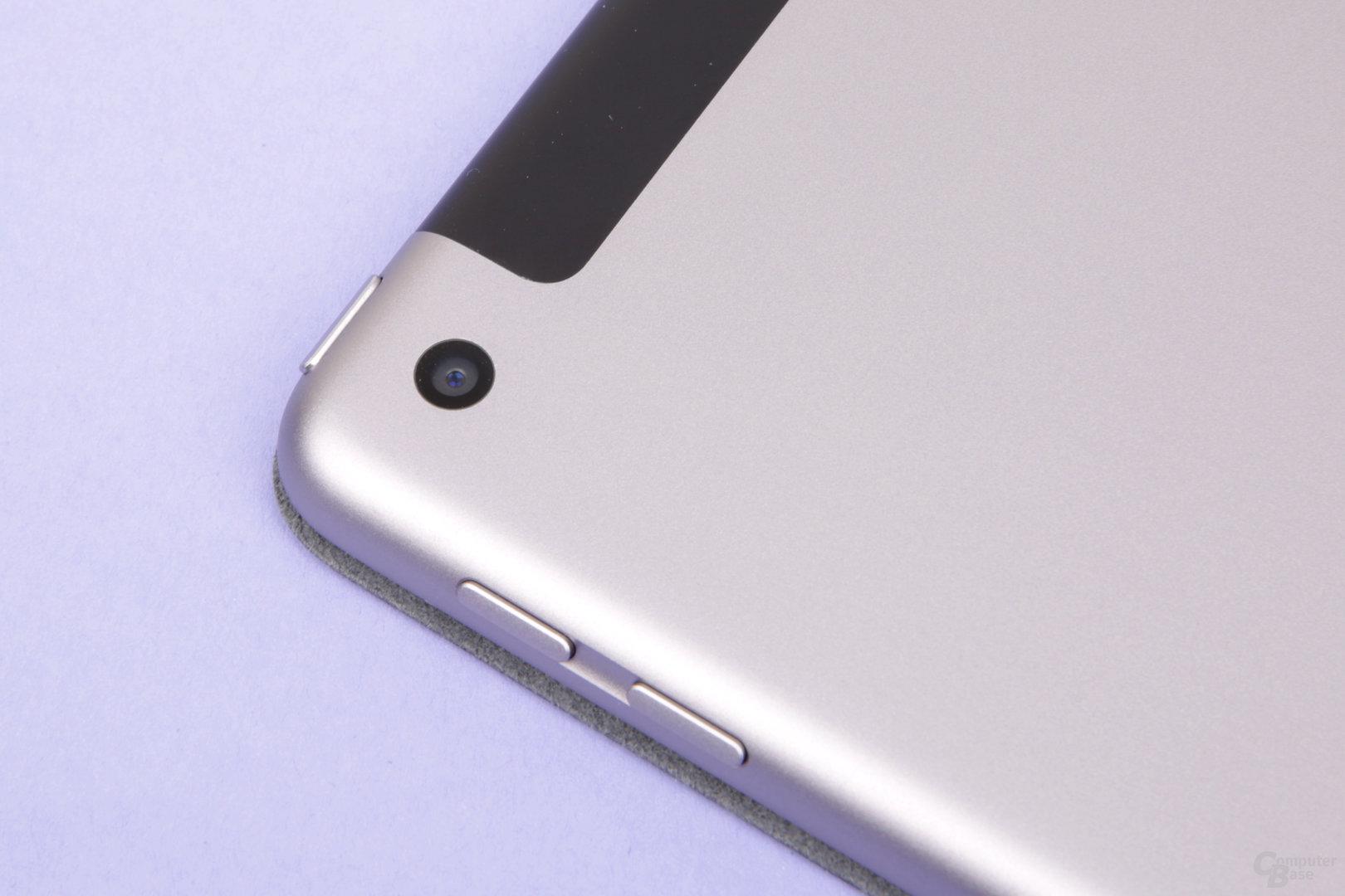 Die neue Kamera ist eigentlich alt und entspricht dem iPad Air 2