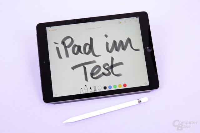 Das neue iPad ist das erste Non-Pro-Tablet mit Apple-Pencil-Unterstützung