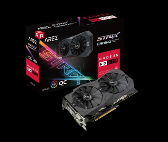 AMD Radeon läuft bei Asus jetzt unter Arez