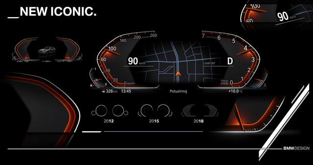 """Neues Design """"New Iconic"""" für das Info Display"""