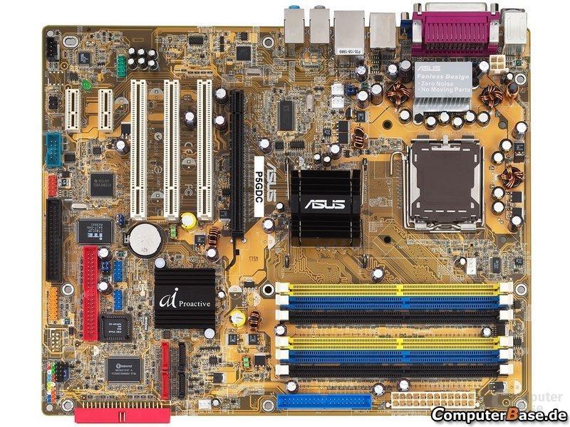 Asus P5GDC Deluxe - Combo-Lösung mit DDR und DDR2
