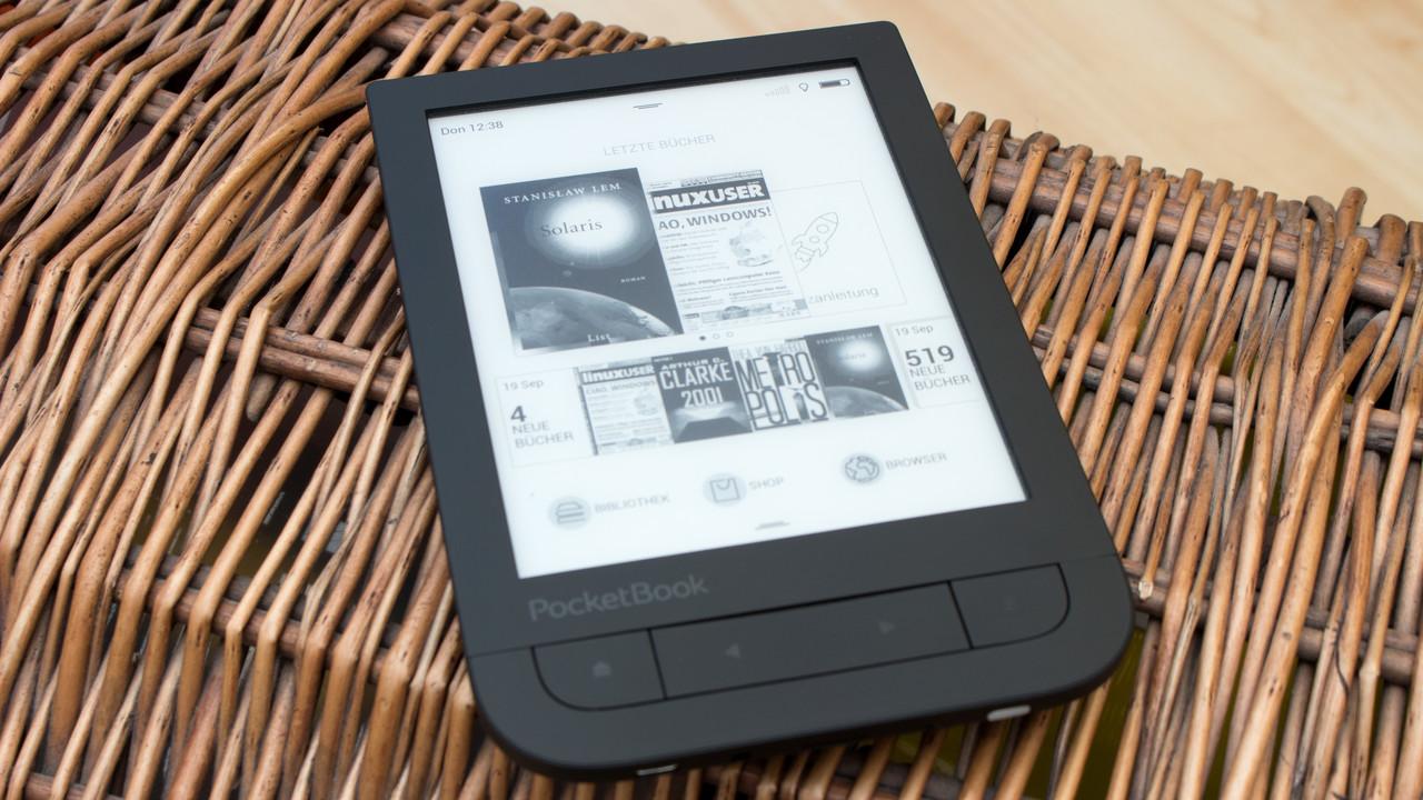 PocketBook Touch HD 1 & HD 2: Großes Firmware-Update bringt leichtere Bedienung
