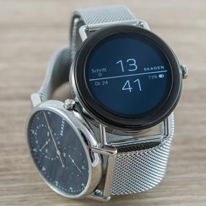 Skagen Falster im Test: Einer der schönsten smarten Uhren fällt das Zählen schwer