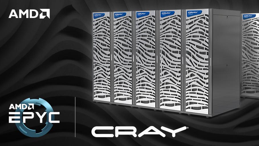 Supercomputer: Cray bestückt CS500‑Systeme mit AMD Epyc 7000