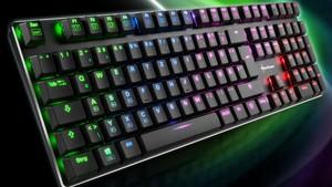 Sharkoon PureWriter (TKL) RGB: Flache Mechanik mit mehr Funktionen und RGB