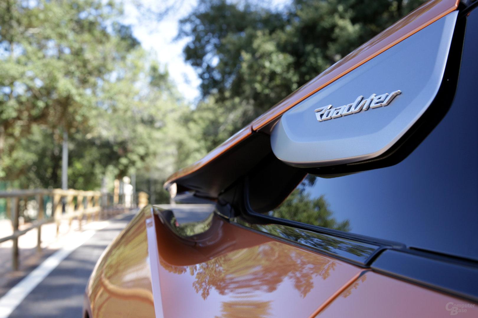 BMW i8 Roadster – Blick Richtung Heck