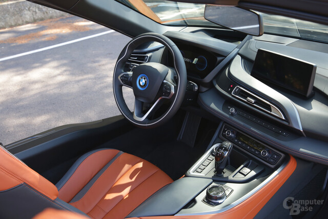 BMW i8 Roadster – Interieur