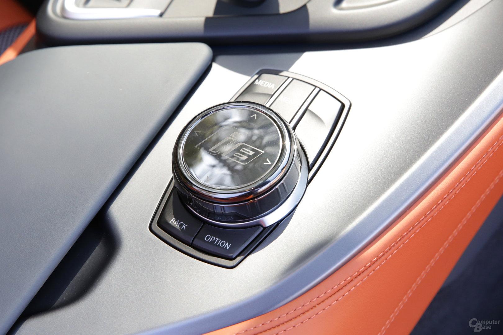 BMW i8 Roadster – Controller für iDrive