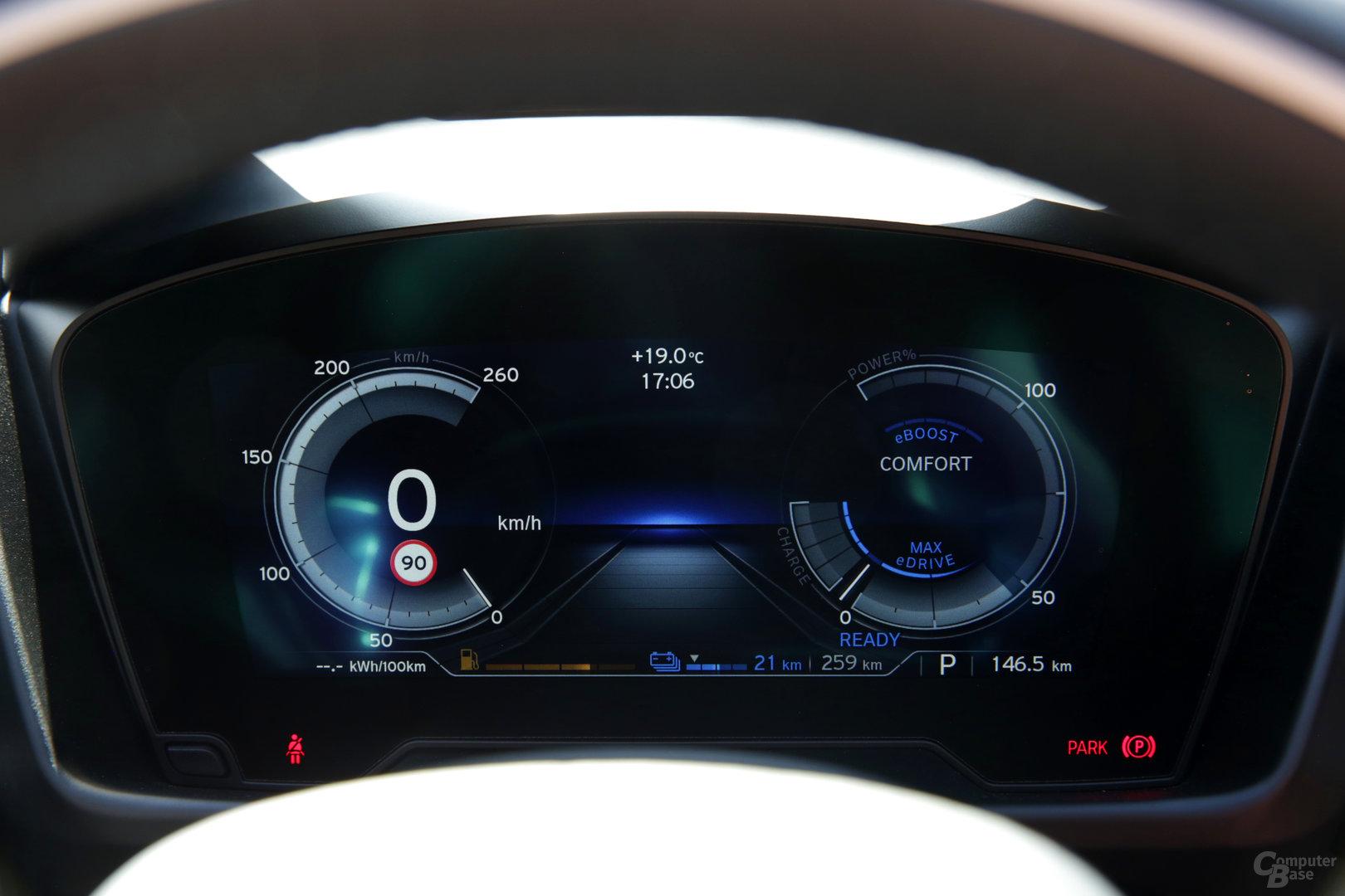 BMW i8 Roadster – Digitales Cockpit