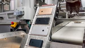 Apple-Umweltbericht: Roboter Daisy zerlegt 200 iPhones pro Stunde