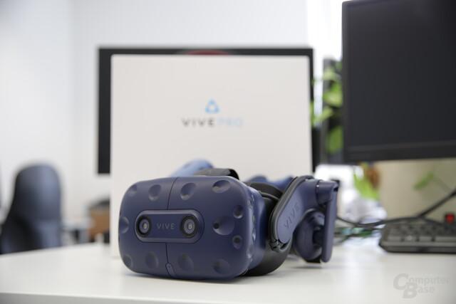 Premiere für die neue HTC Vive Pro