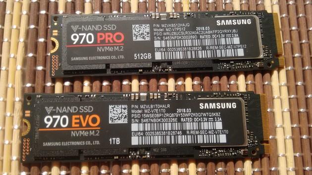 SSD 970 Evo/Pro im Test: Samsung baut den Vorsprung weiter aus