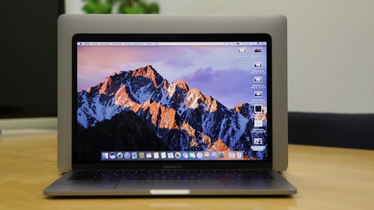 MacBook Pro ohne Touch Bar: Apple tauscht Akkus, die sich aufblähen (könnten)