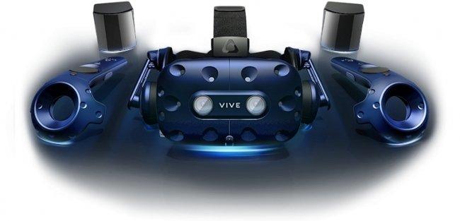 Neues Bundle aus Vive Pro HMD, 2 Controllern und 2 Basisstationen