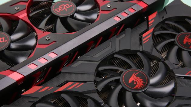 RX Vega 56 Red Dragon im Test: PowerColors roter Drache kann auch richtig leise