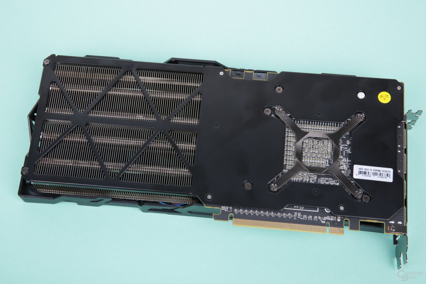 PowerColor Radeon RX Vega 56 Red Dragon – Rückseite