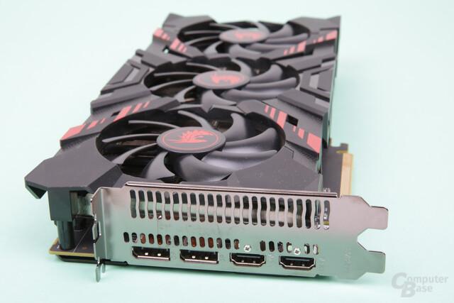 PowerColor Radeon RX Vega 56 Red Dragon – Monitoranschlüsse
