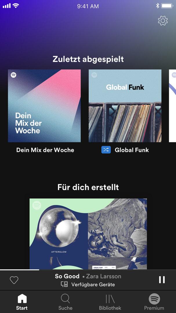 Das neue Spotify Free