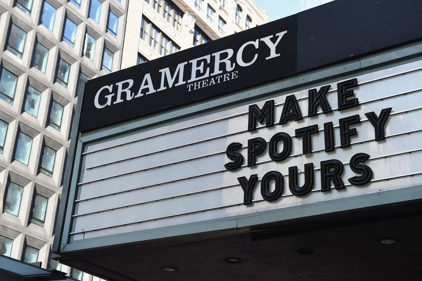 Spotify-Event in New York zur neuen kostenlosen Variante