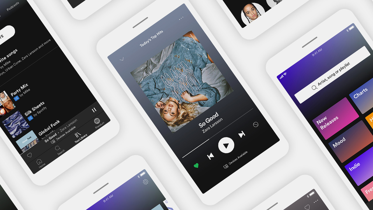 Neue App: Spotify Free wird ein wenig mehr Premium