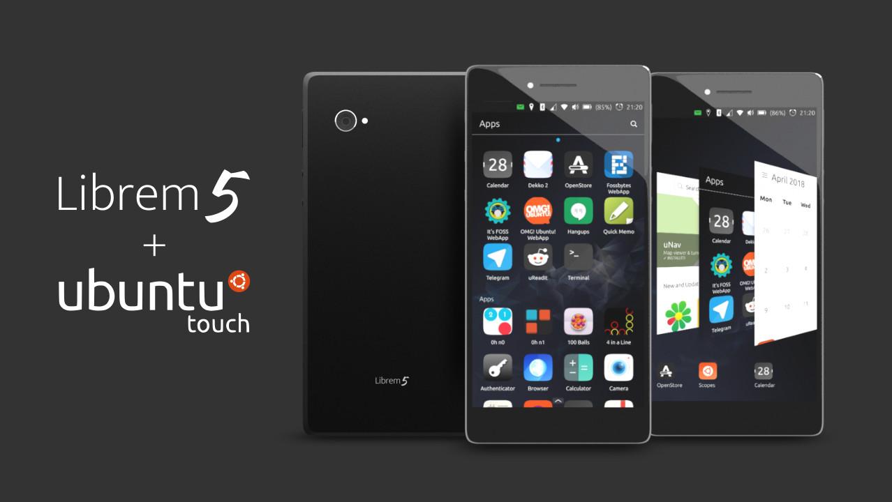 Linux: Ubuntu Touch für das Smartphone Librem 5