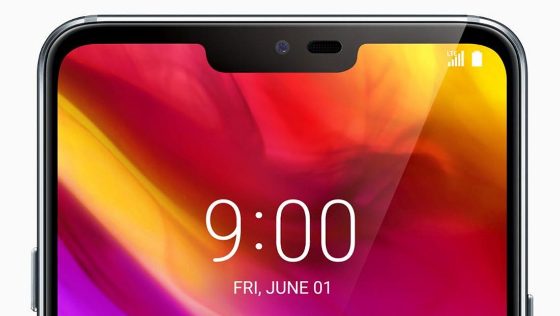 LG G7 ThinQ: Display mit 6,1Zoll im 19,5:9-Format und bis zu 1.000cd/m²