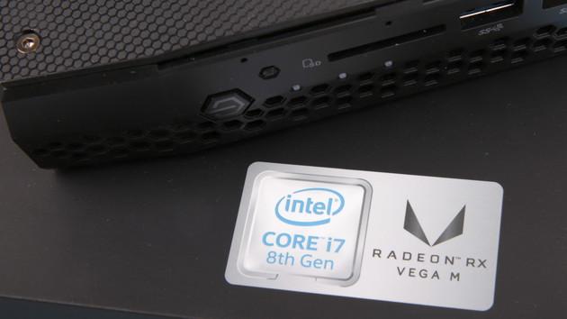 Intel NUC Hades Canyon im Test: Der stärkste 1,2-Liter-PC dank AMD Vega auf Kaby Lake-G