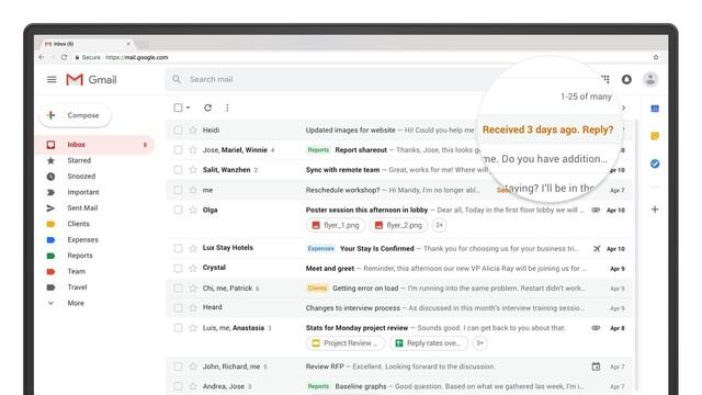 Automatische Erinnerungen in Gmail