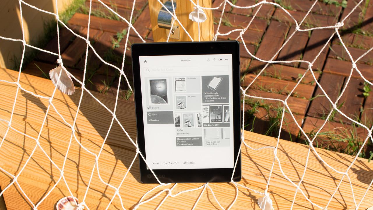 Kobo: Firmware-Update für schnelleres E-Book-Blättern