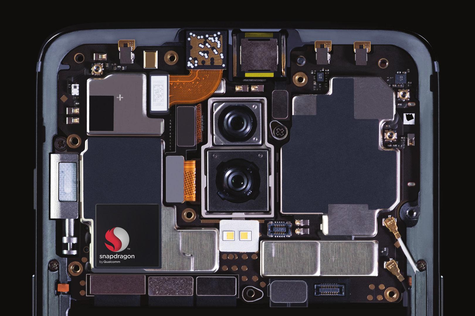 Innenansicht des OnePlus 6
