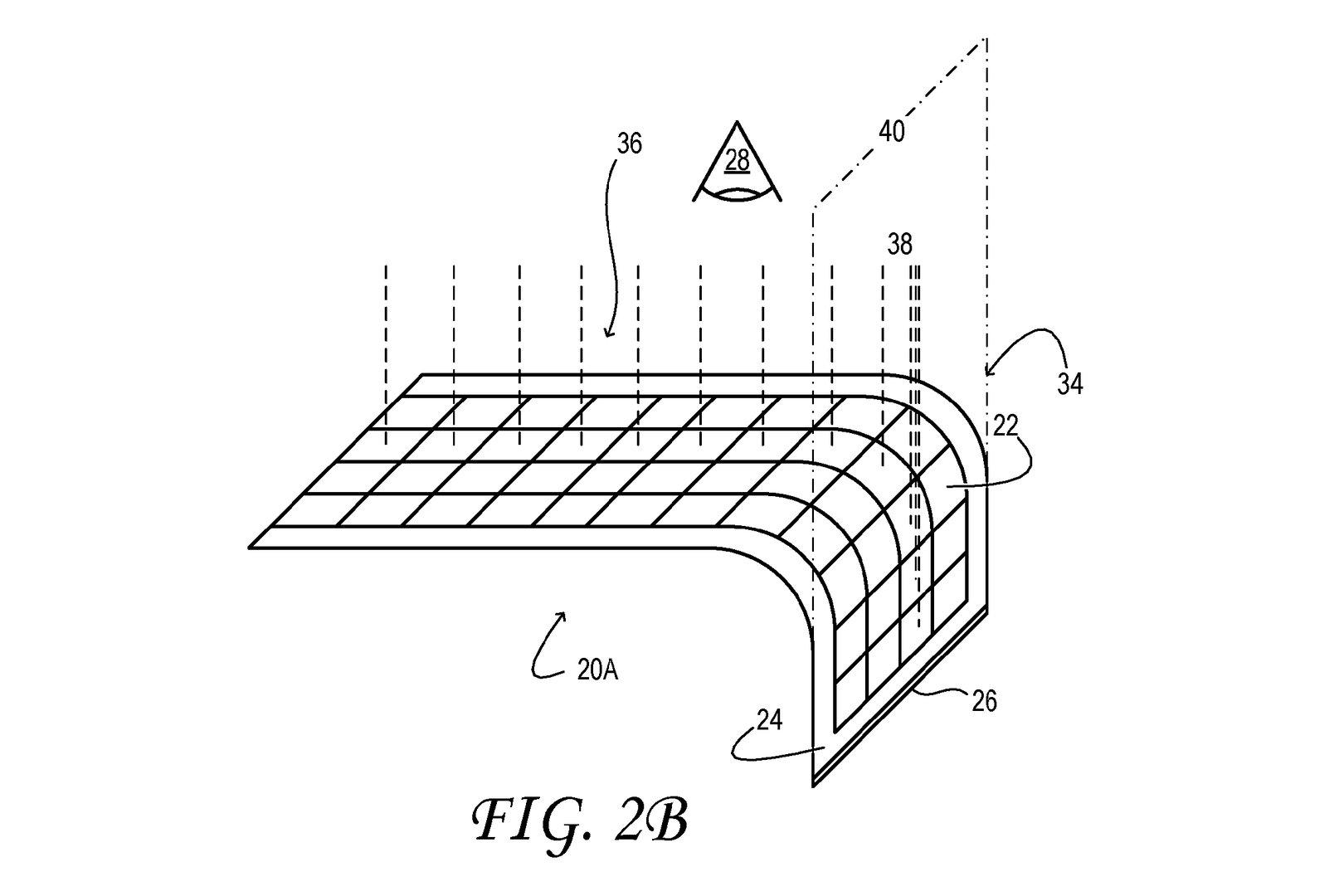 Patent beschreibt Korrektur der Darstellung bei gebogenem Display