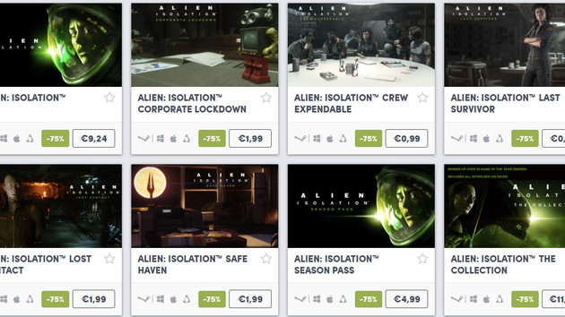 Alien Day Sale: Humble Bundle senkt Alien-Titel um 75 % im Preis