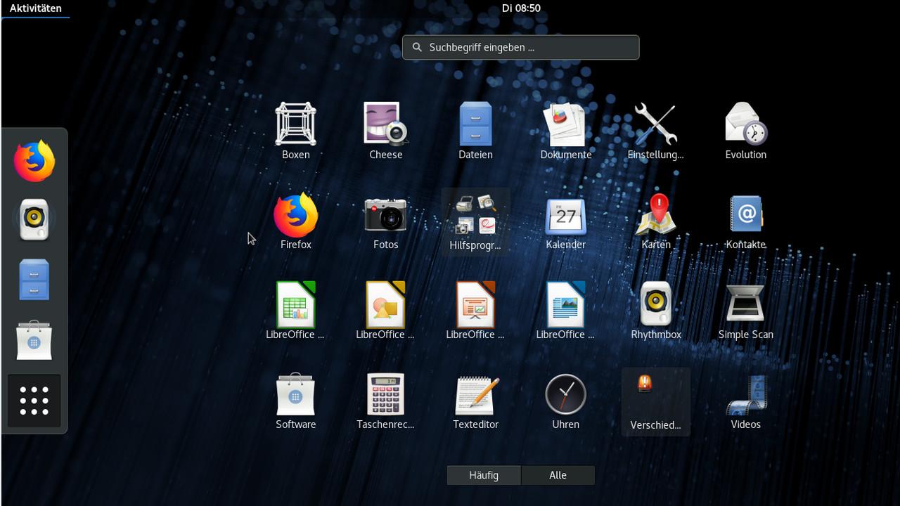 Linux: Fedora Workstation 28 mit Gnome 3.28.1 veröffentlicht