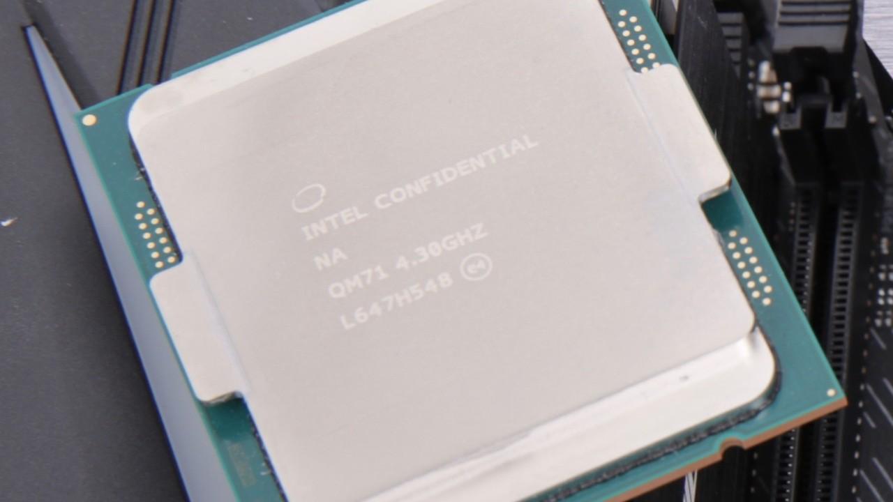Intel Kaby Lake-X: Nach elf Monaten wird der CPU-Flop eingestellt ...