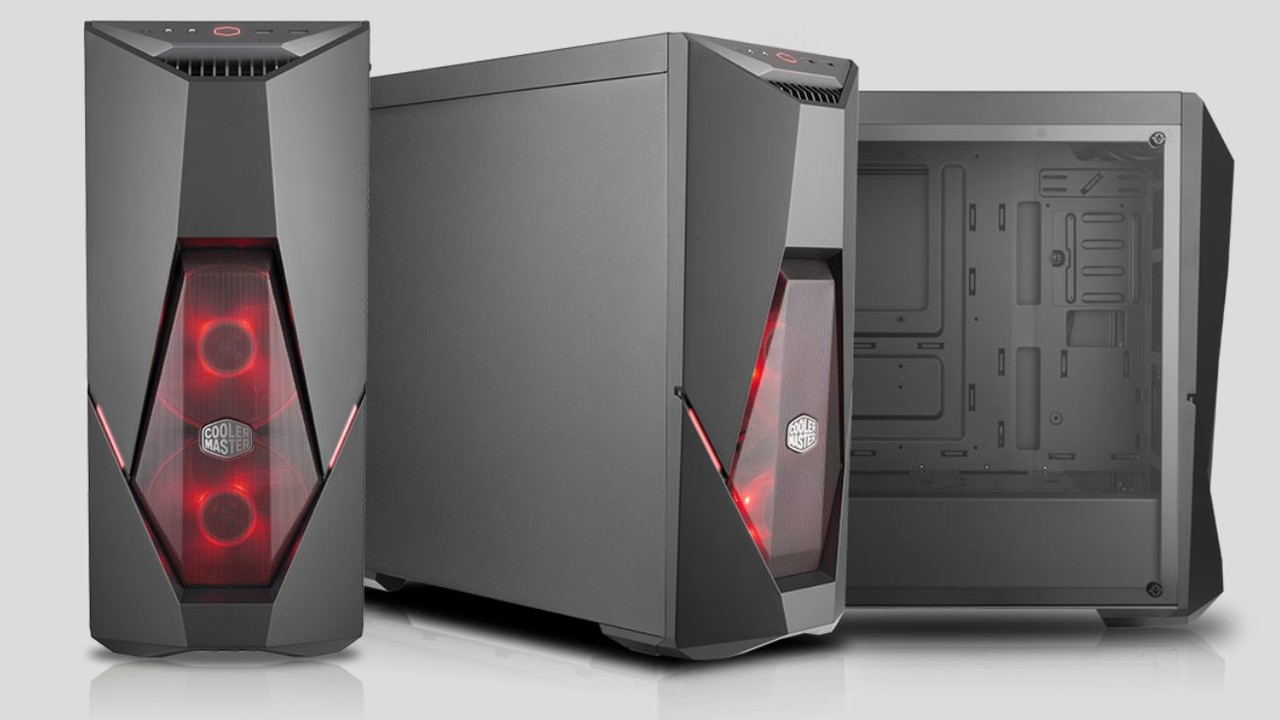 MasterBox K500L: Cooler Masters Mode-Tower leuchtet rot