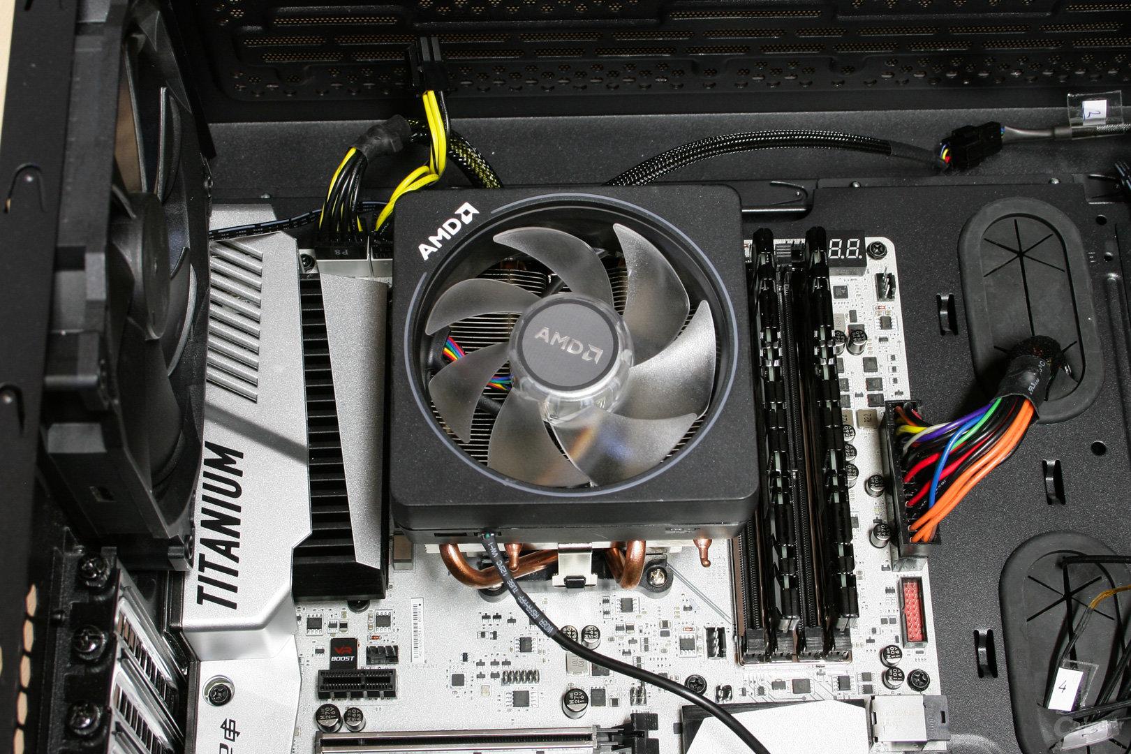 AMD Wraith Prism im Test: Ein Boxed-Kühler, der sich nicht