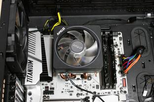 AMD Wraith Prism im Testsystem