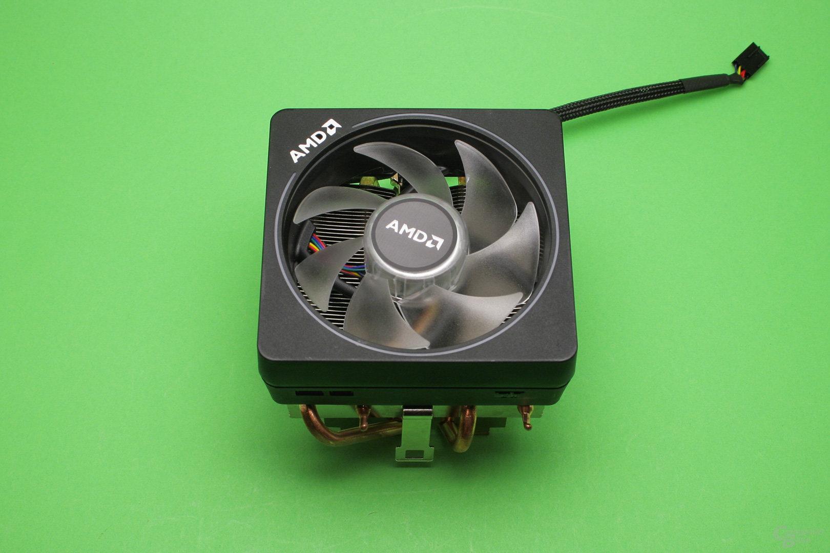 AMD Wraith Prism: Top-Blow-Kühler mit über 9 cm Bauhöhe