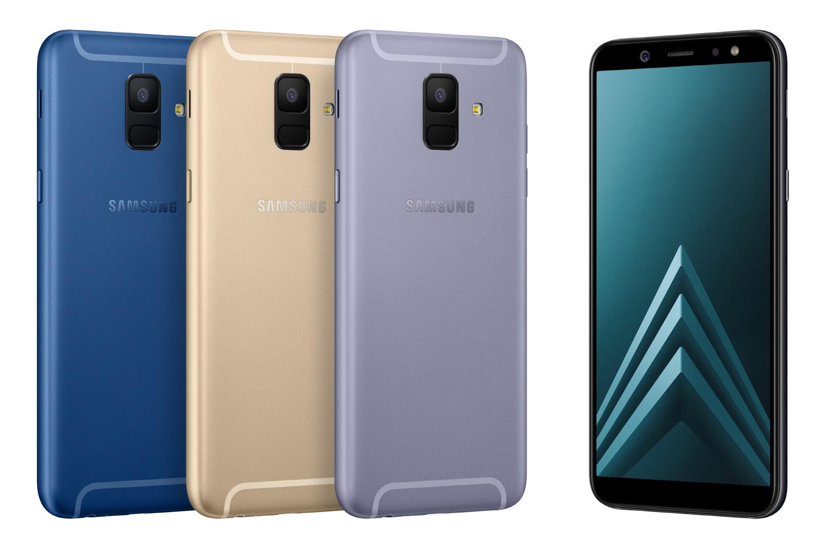 Galaxy A6 (Blau nicht für Deutschland)