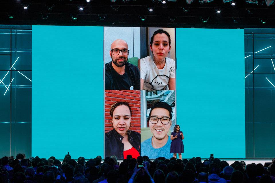 Auch ein WhatsApp Videochat für Gruppen wurde auf der F8 vorgestellt.