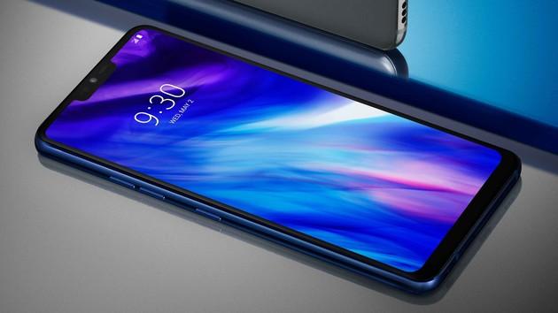 LG G7 ThinQ: Smartphone mit hellem Display und Google-Taste