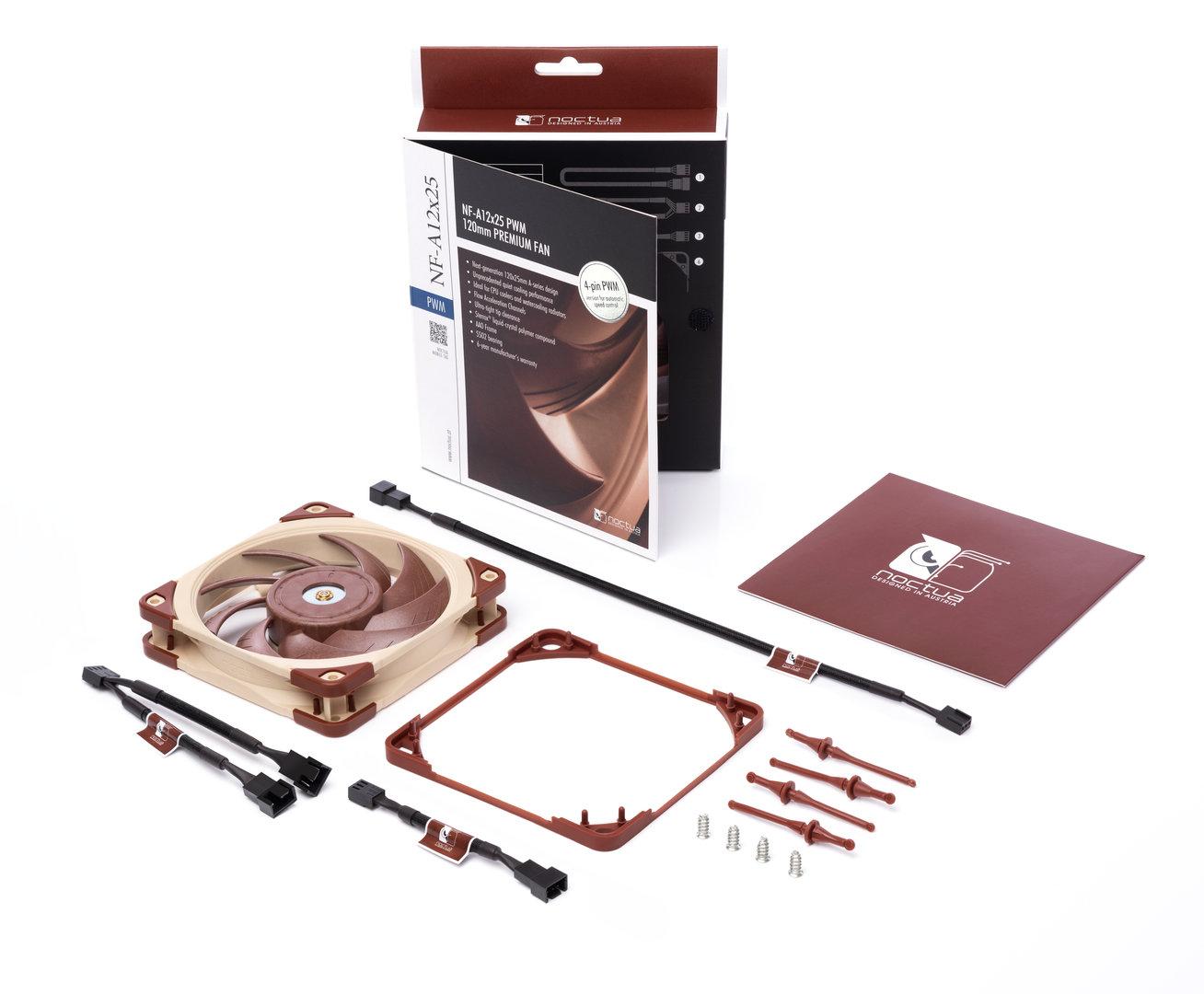 Noctua NF-A12x25: Neuer Premium-Lüfter von Noctua