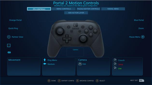 Switch Pro Controller: Steam-Client unterstützt Nintendo-Gamepad