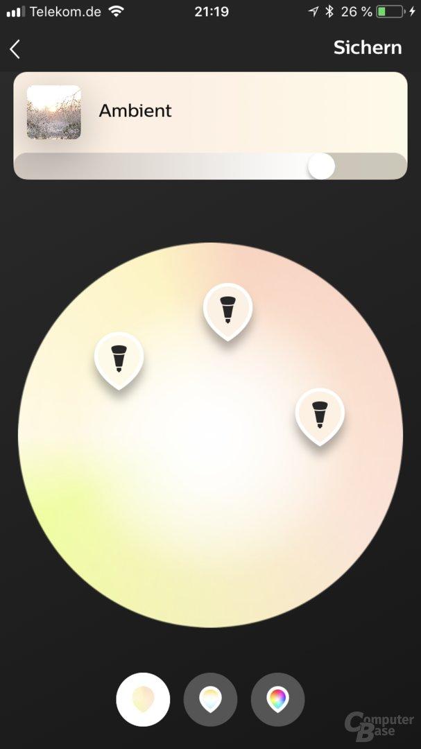 Neue Philips Hue-App 3.0 (iOS)